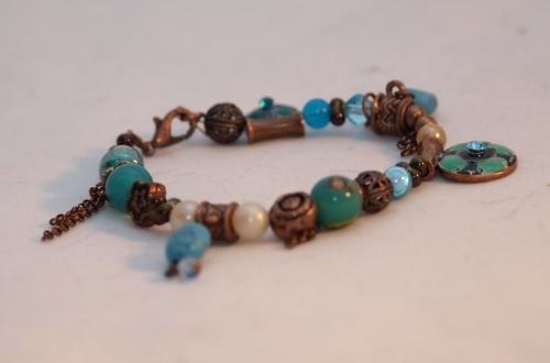 bracelet cuivre , bleu vert.jpg